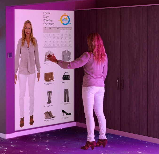 Virtual Wardrobe Mirror